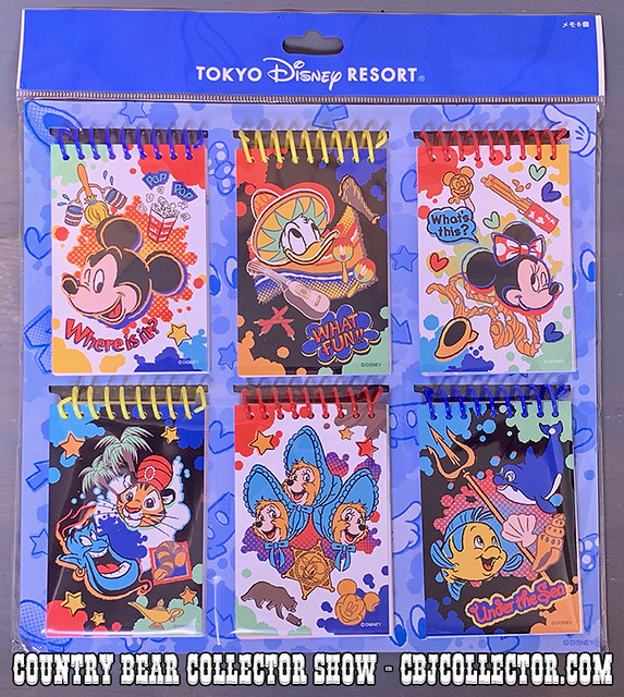 2019 Tokyo Disneyland Sun Bonnets Notepad - Country Bear Collector Show #205