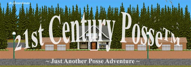 21st Century Posse™ Banner ©Jack Boardman