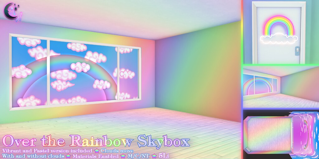 *NW* Over the Rainbow Skybox