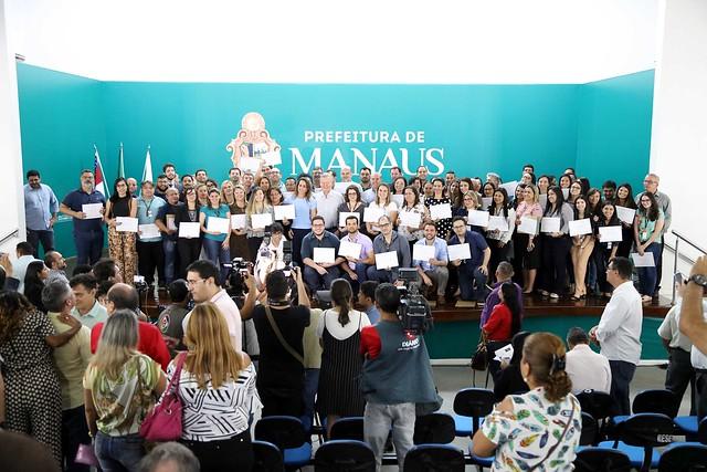 13.06.2019 Prefeito homenageia servidores da Manaus Previdência por conquistas alcançadas
