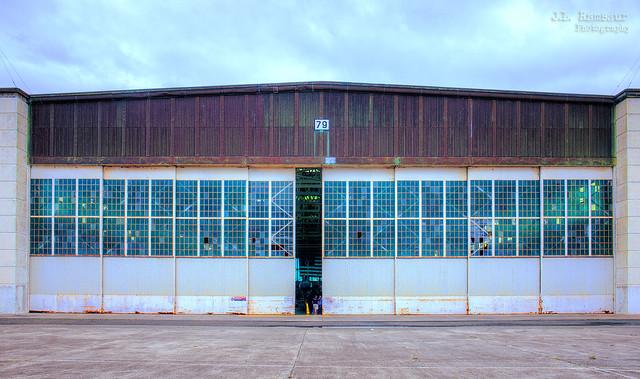 Pearl Harbor Aviation Museum - Restoration Hangar 79 - Honolulu, Oahu, Hawaii