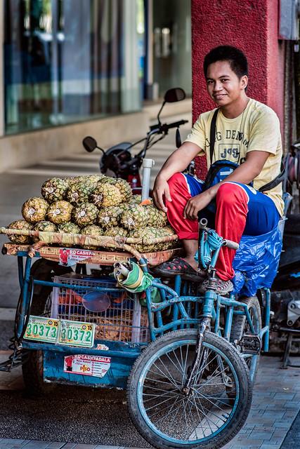 Pineapple Street Vendor