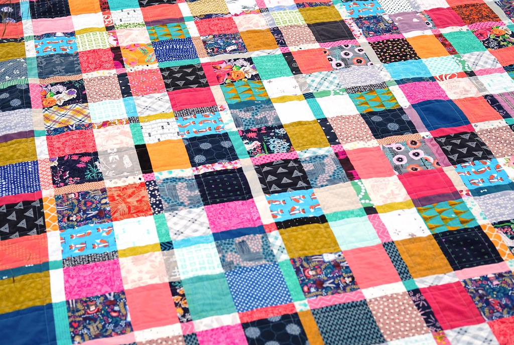 Plaid-ish Quilt Tutorial - Kitchen Table Quilting