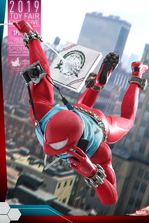 Hot Toys - VGM34 -《漫威蜘蛛人》蜘蛛人 (緋紅蜘蛛戰衣) Spider-Man (Scarlet Spider Suit) 1/6 比例人偶作品【Toy Fair Exclusive】