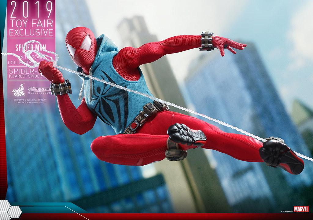 Hot Toys - VGM34 -《漫威蜘蛛人》蜘蛛人 (緋紅蜘蛛戰衣) Spider-Man (Scarlet Spider Suit) 1/6 比例人偶作品【Toy Fair Exclusive】