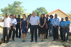 Arrival of the guests for Leohitu hatchery inauguration on 7 June 2019, Timor-Leste. Photo by Natalina Manuela Pires