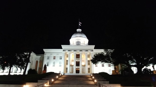 Alabama State Capitol @ Night