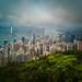 Hong Kong from my mobile Huawei Mate 20X