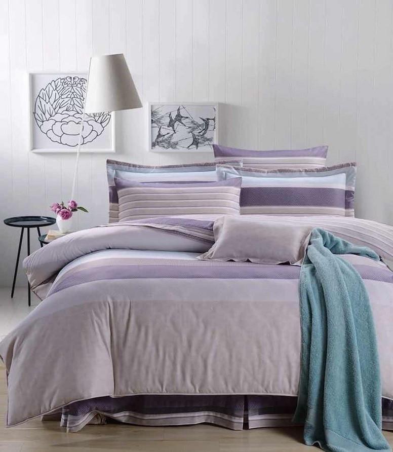 50天絲床罩組6尺花型-怡然心情
