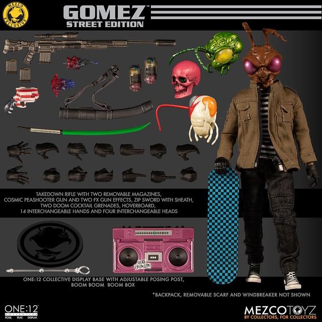 MEZCO ONE:12 COLLECTIVE 系列【Gomez - 街頭版本】Gomez - Street Edition 2019 Summer Exclusive