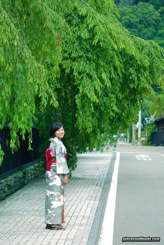 samurai street lady