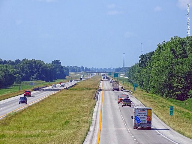 I-49 Southbound in Missouri, 8 June 2019