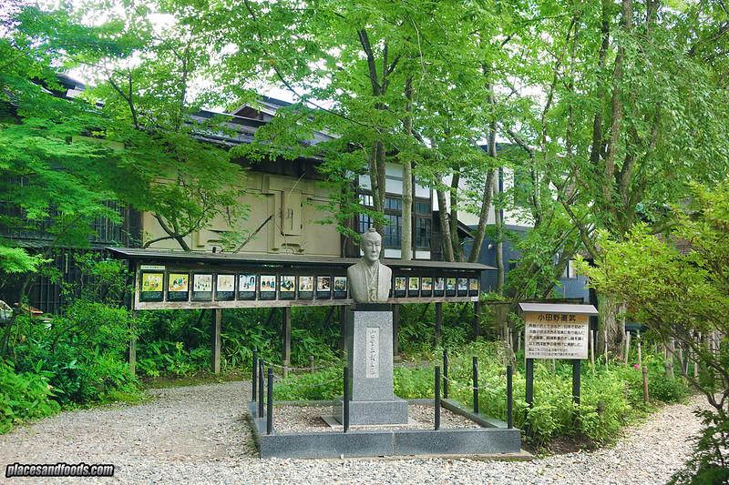 samurai street monument