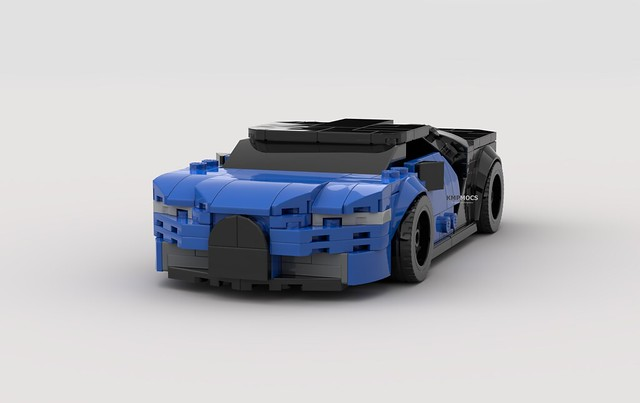 Render - Lego Bugatti Chiron