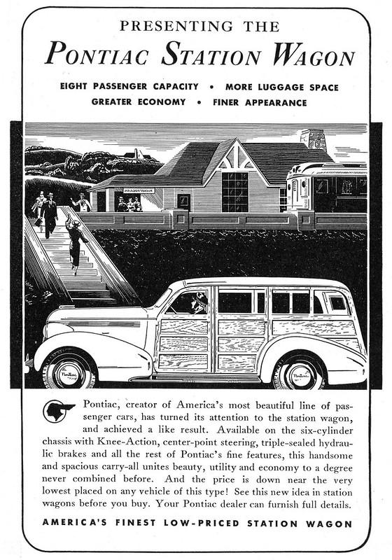 1937 Pontiac Station Wagon