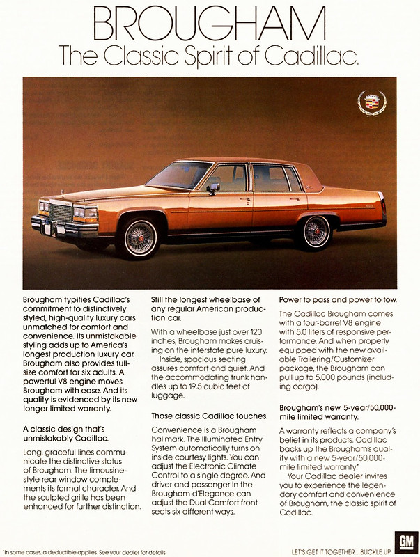 1987 Cadillac Fleetwood Brougham