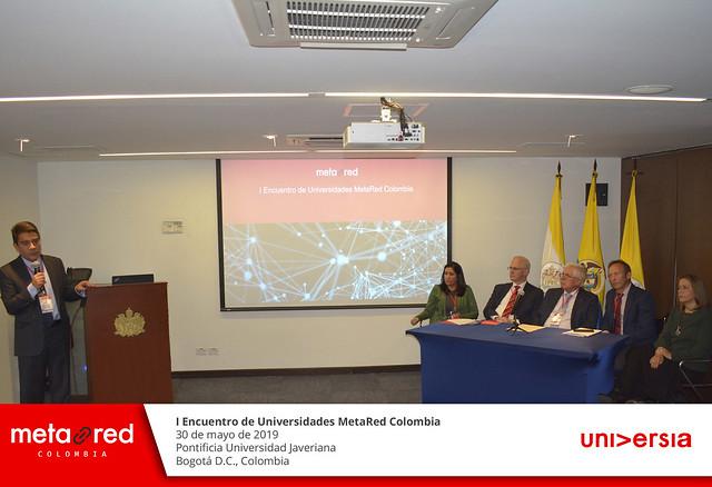 I Encuentro MetaRed Colombia