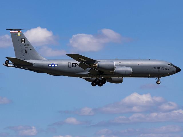 United States Air Force | Boeing KC-135R Stratotanker | 58-0100