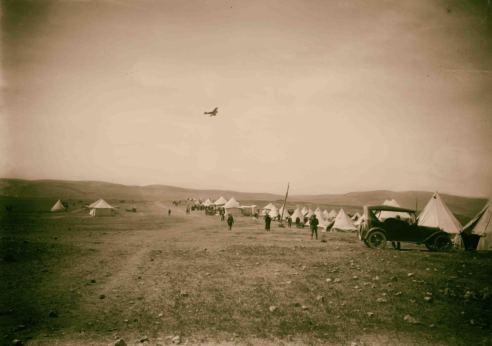 01. Лагерь эмира Абдаллы в Аммане. 1921