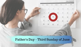 Fathers day date in america