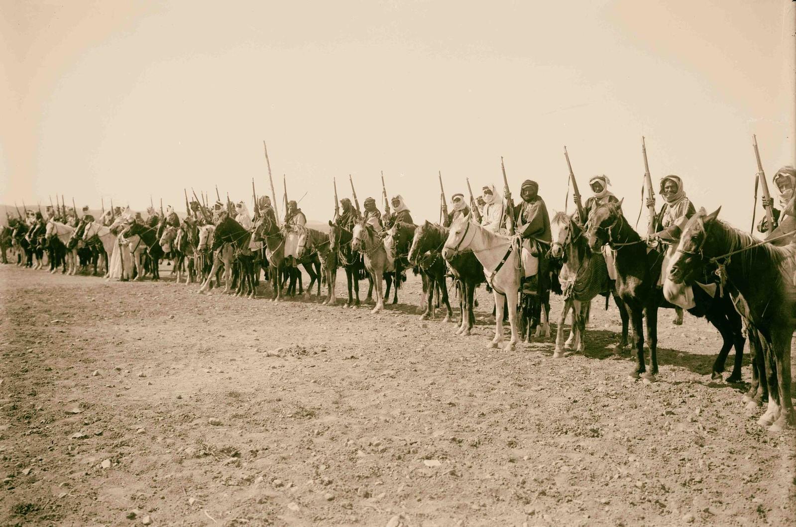 18. Группа конных бедуинов