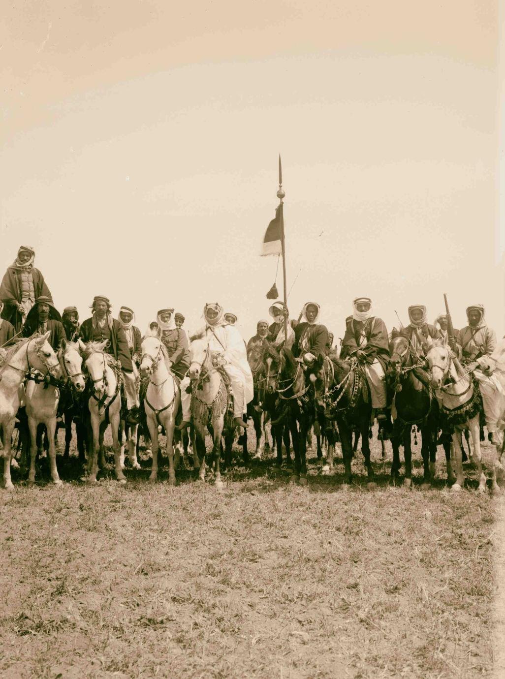 17. Телохранители эмира на лошадях