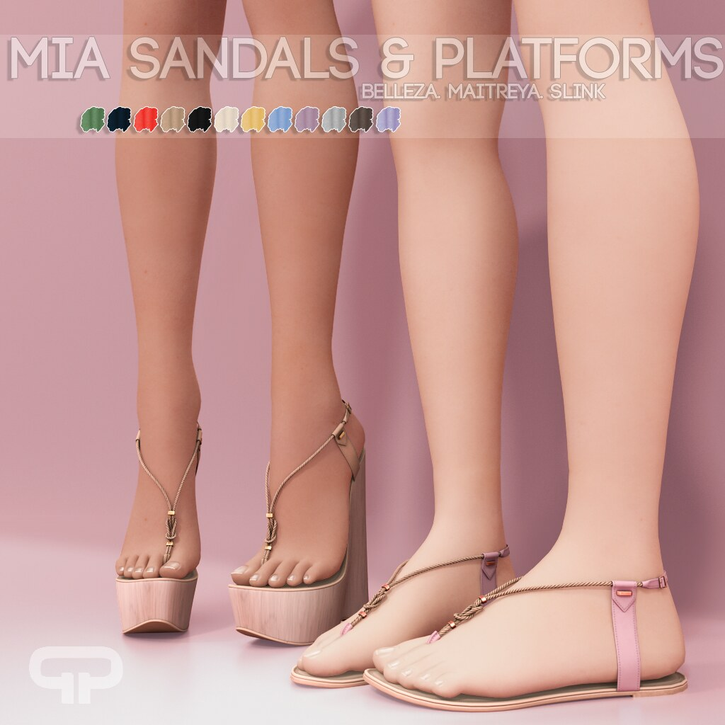 Pure Poison – Mia Sandals & Platforms AD