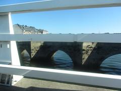Crossing the bridge at Burgo, La Coruña, Galicia, Spain 3/4