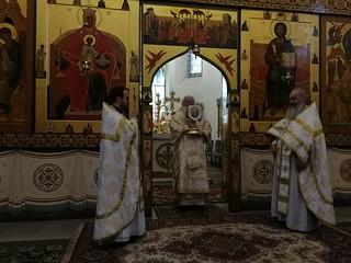 11.06.2019 | Божественная литургия в Иверском монастыре