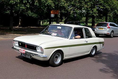 900 BGB 1967 FORD CORTINA Mk2 LOTUS | London to Brighton ...  900 BGB 1967 FO...