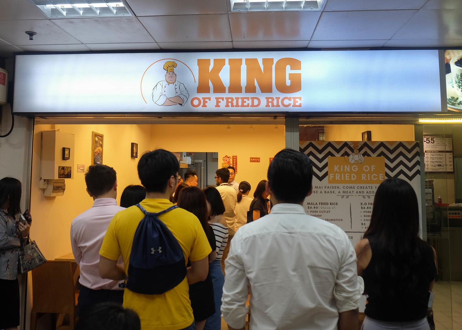 King of Fried Rice – Hidden Gem in Golden Mile Tower