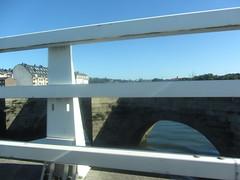 Crossing the bridge at Burgo, La Coruña, Galicia, Spain 2/4