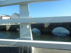 Crossing the bridge at Burgo, La Coruña, Galicia, Spain  4/4