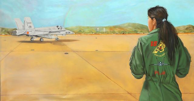 Premios Ejército del Aire 2019 modalidad de pintura