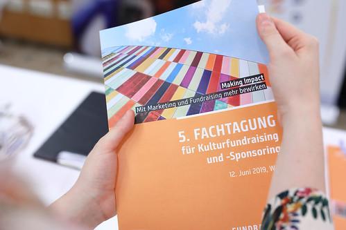 Fachtagung Kulturfundraising und -Sponsoring 2019
