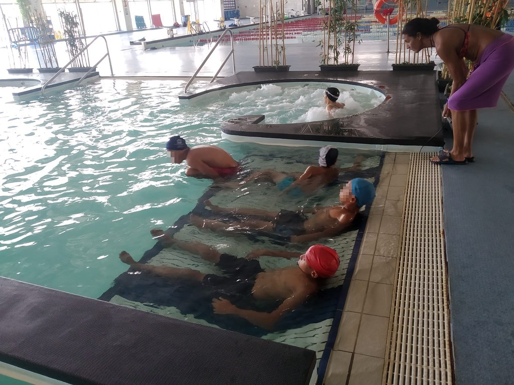 Tarde de deportes acuáticos