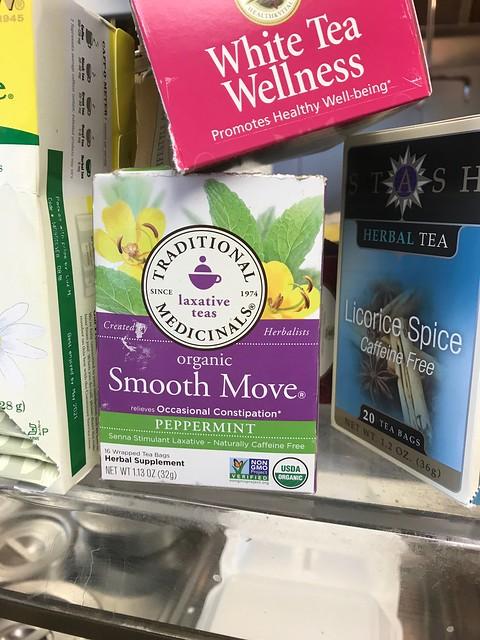 Smooth Move Laxative Tea - Found at a local deli