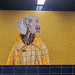 William Wegman Dog Mural