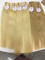 MCSARA weave hair blonde color
