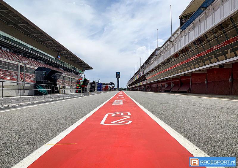 Pitlane Circuit de Barcelona Catlunya