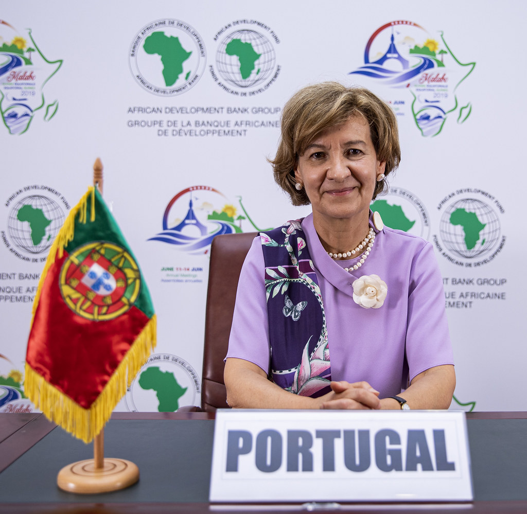 Malabo AfDB Annual Meetings Day 3 - Teresa Ribeiro, Secretary of State of Foreign Affairs and Cooperation for Portugal