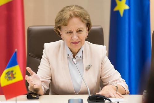 14.06.2019 Întrevederea Președintelui Parlamentului Republicii Moldova Zinaida Greceanîi cu delegația din România