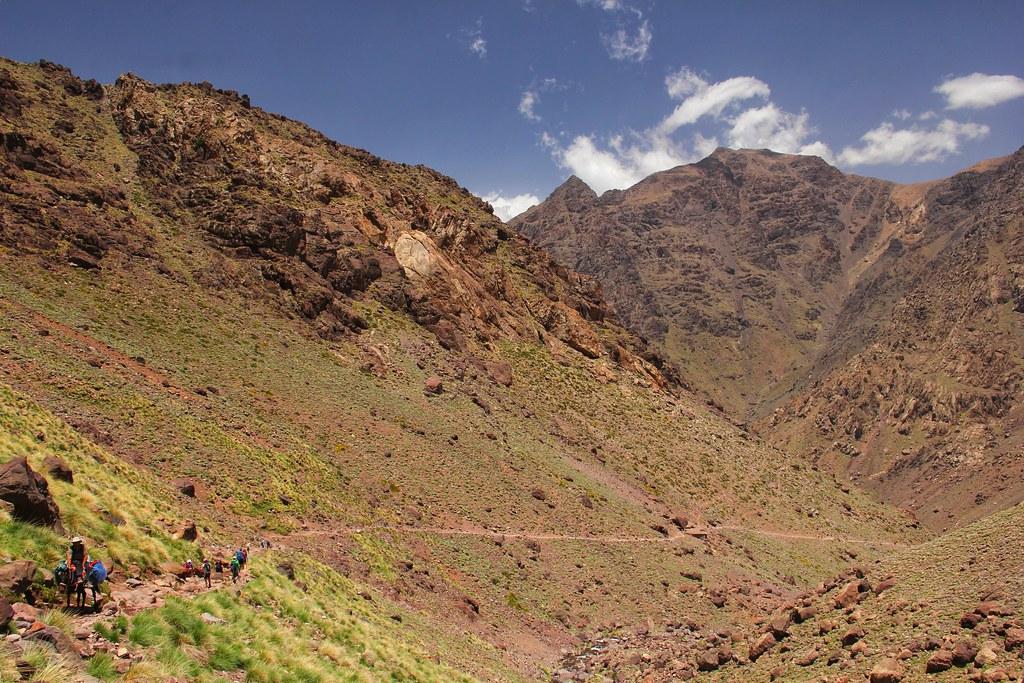 The return to Imlil, Mount Toubkal trek