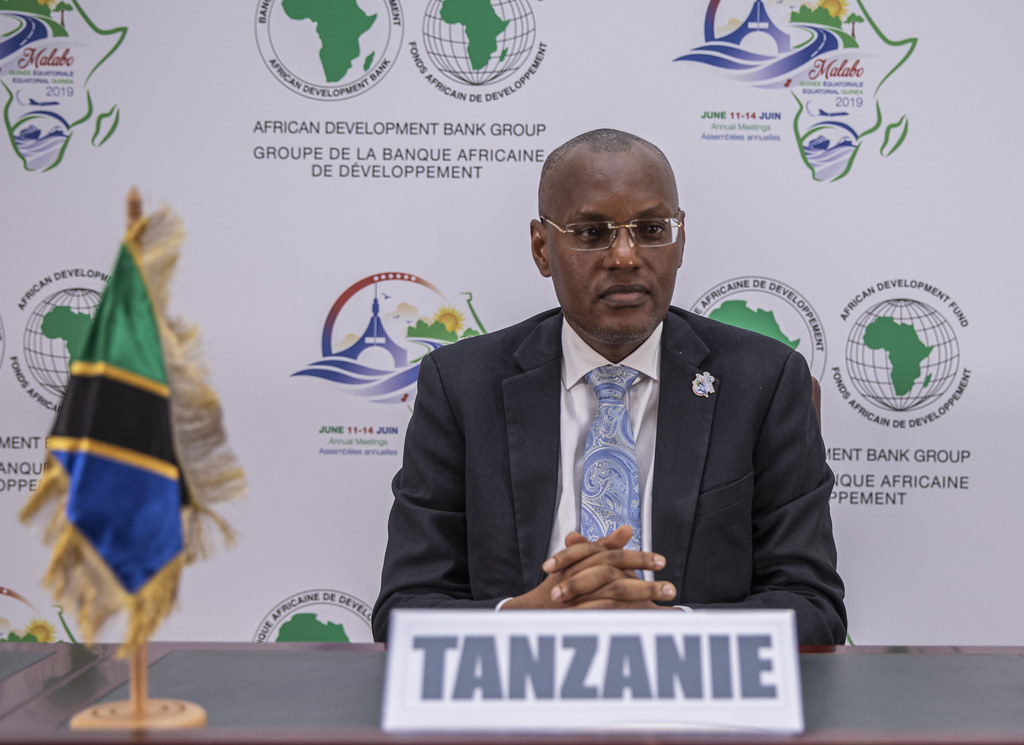 Malabo AfDB Annual Meetings Day 3 - Yamungu M. Kayandabila, Deputy Governor for Economic and Financial Policies of Tanzania