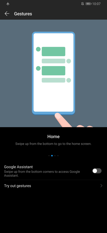 Screenshot Huawei P30