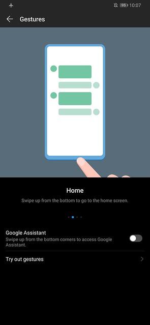 Huawei P30 Pro - Screenshot - Gestures