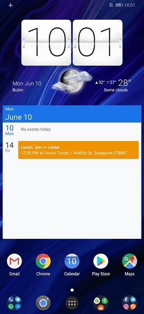 Huawei P30 Pro - Screenshot - Home