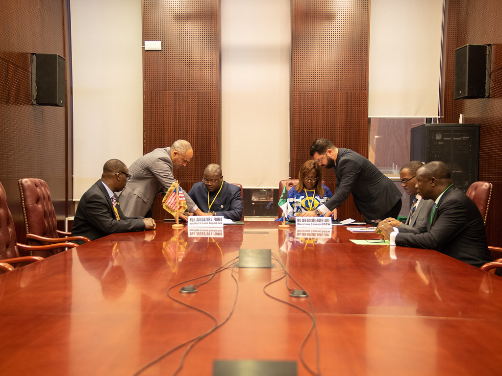 Malabo AfDB Annual Meetings Day 4 - Signing Ceremony Between Liberia and AfDB