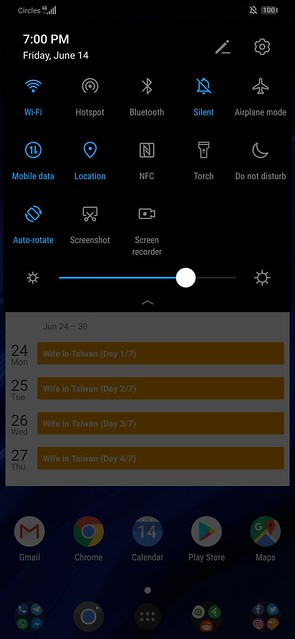 Huawei P30 Pro - Screenshot - Notification Drawer - Quick Settings
