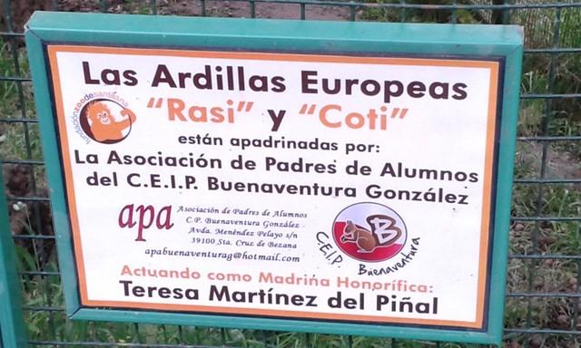 4º en el zoo de Santillana